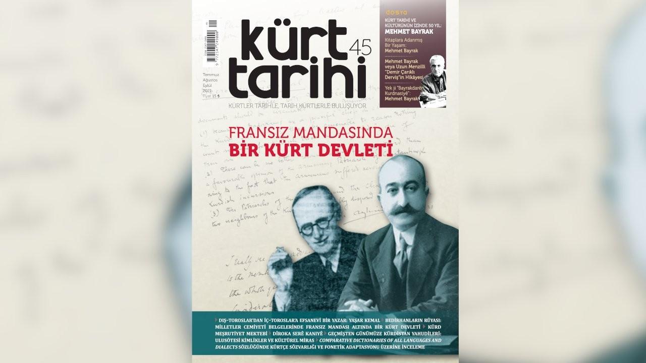 Kürt Tarihi Dergisi'nin 45. sayısı çıktı