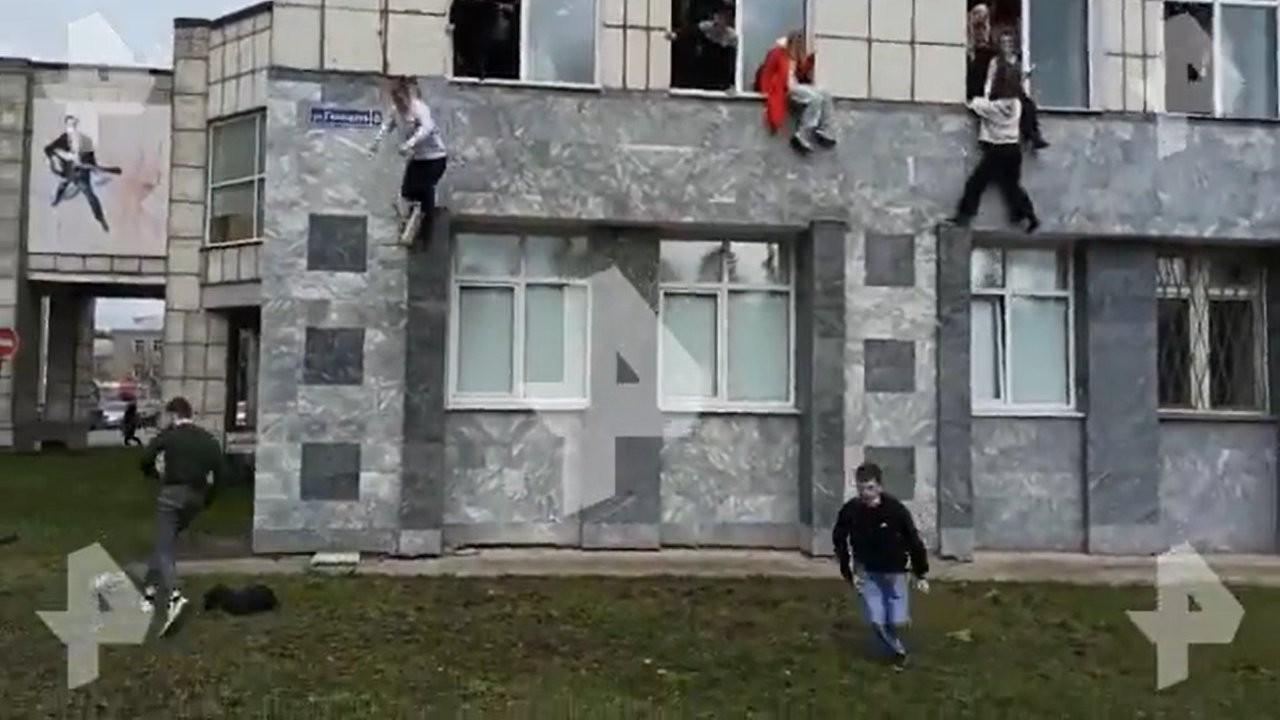 Rusya'da üniversiteye silahlı saldırı: Altı ölü, 20 yaralı
