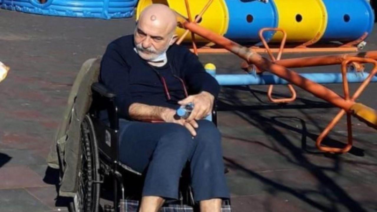Tutuklanan yüzde 98 engelli Bekir Güven hastaneye yatırıldı