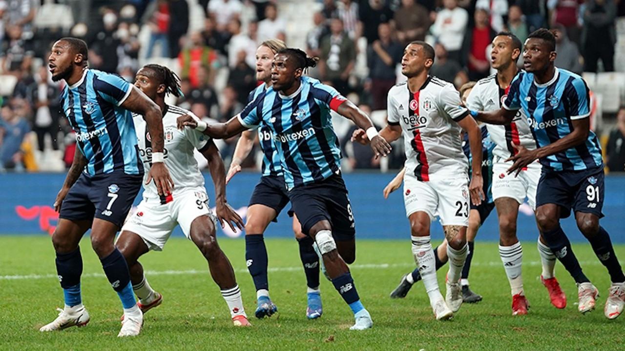 Beşiktaş'ın 3-0 öne geçtiği maç beraberlikle bitti