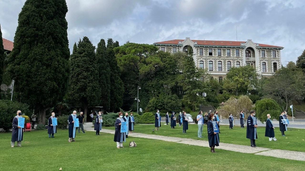 Boğaziçi'nde akademisyenlerin nöbeti 261'inci gününde