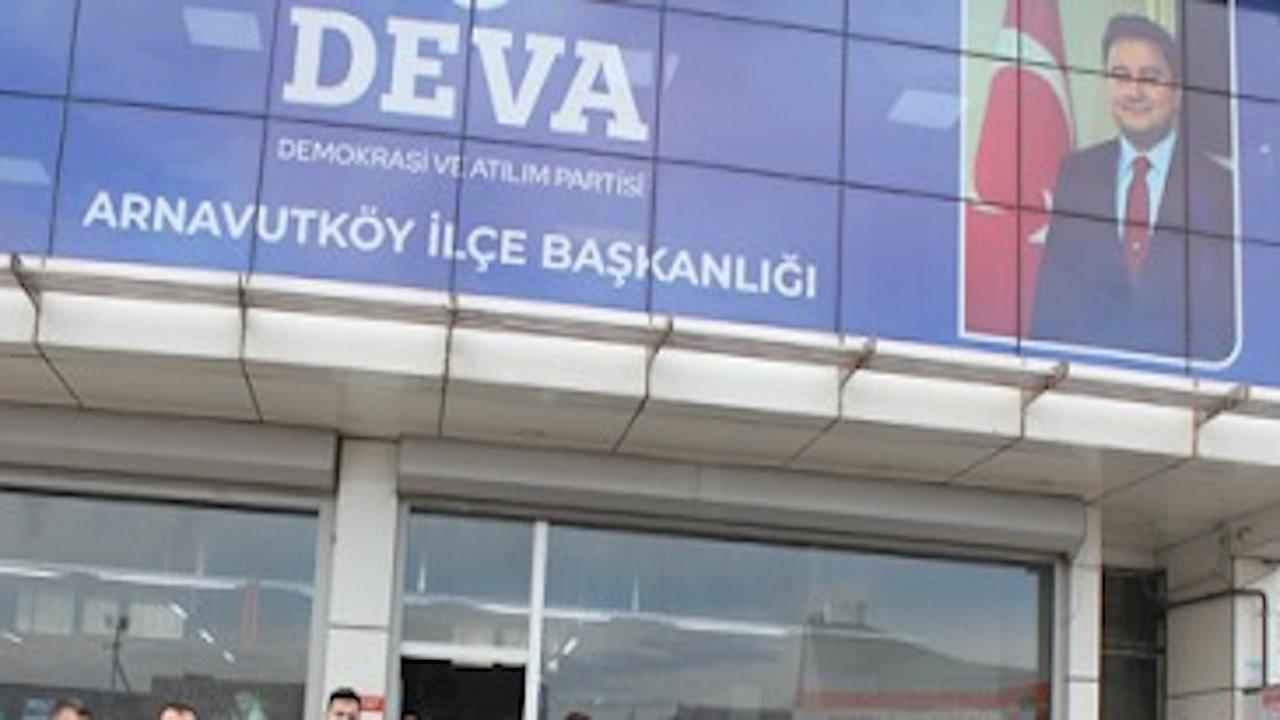 DEVA Partisi ilçe başkanlığına silahlı saldırı