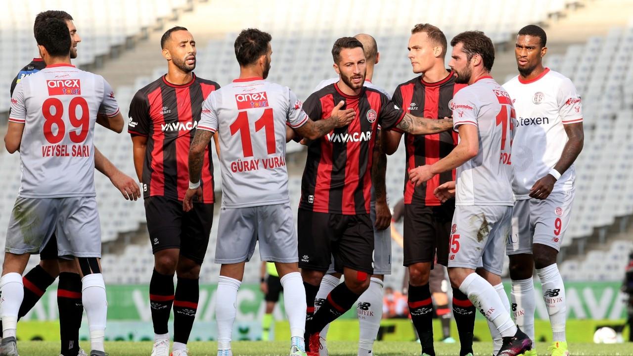 Fatih Karagümrük-Antalyaspor maçı golsüz tamamlandı