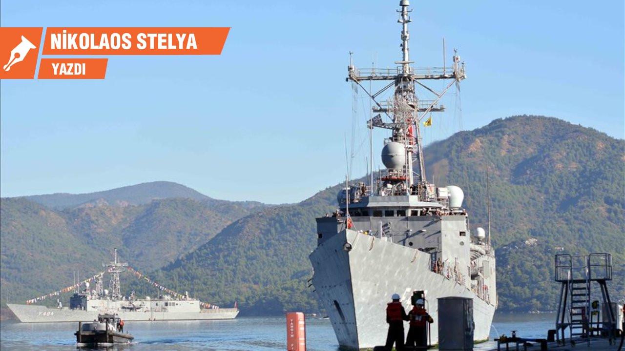Türkiye'den Girit açıklarında AB gemisine önleme