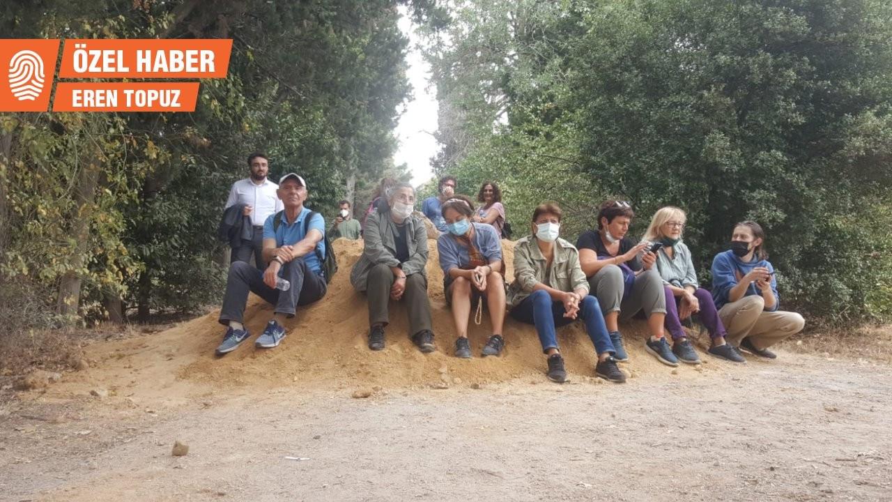Validebağ'da kumların üzerinde nöbet: Koruya müdahale anayasaya aykırı