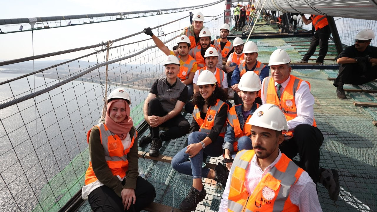 Yeni Şafak sitesinde Çanakkale Köprüsü fiyatına tepki