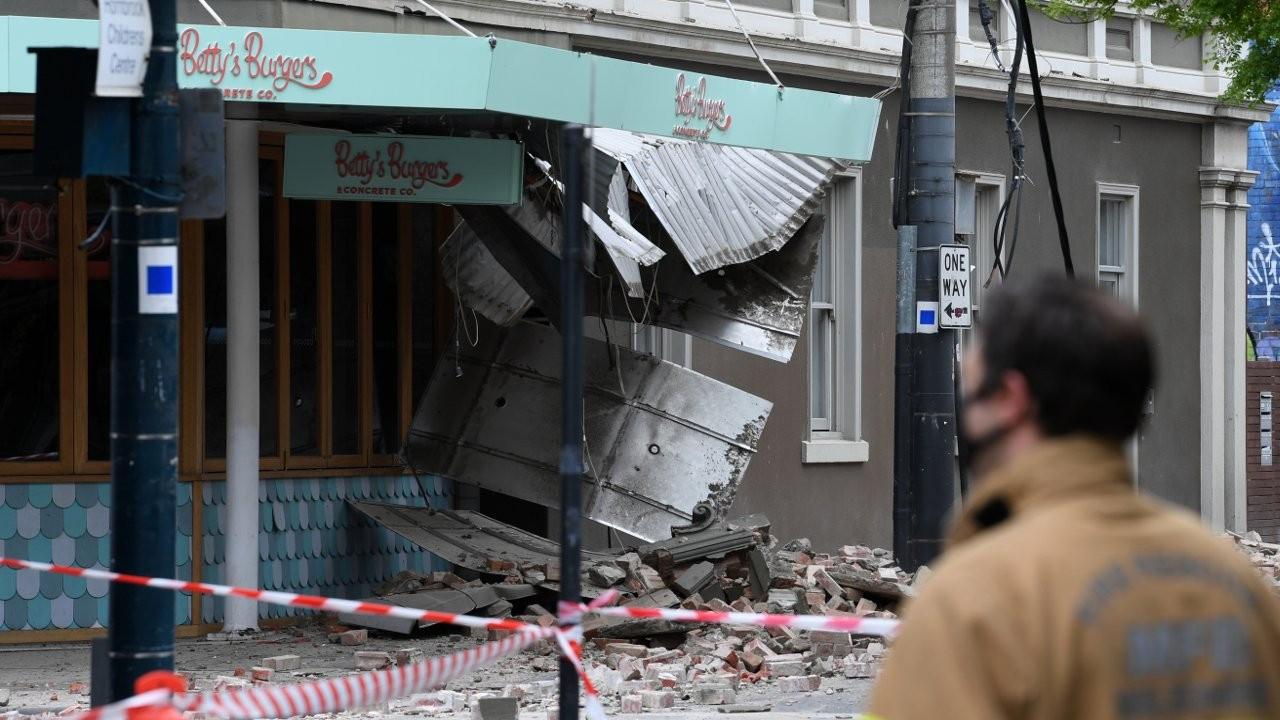 Avustralya'nın Melbourne kentinde 5.9 büyüklüğünde deprem