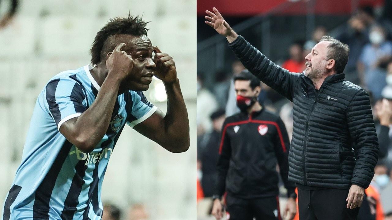 Sergen Yalçın ve Balotelli dünya gündeminde