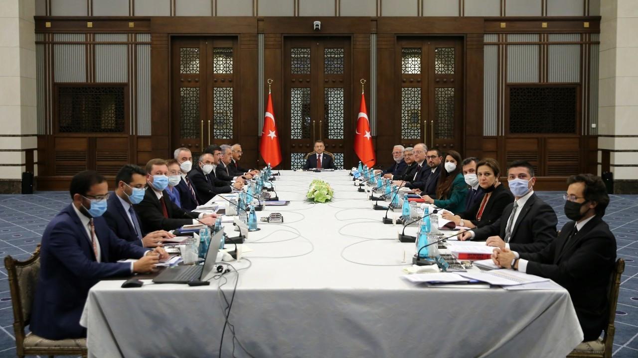 Beştepe'de 'vergi düzenlemesi' toplantısı