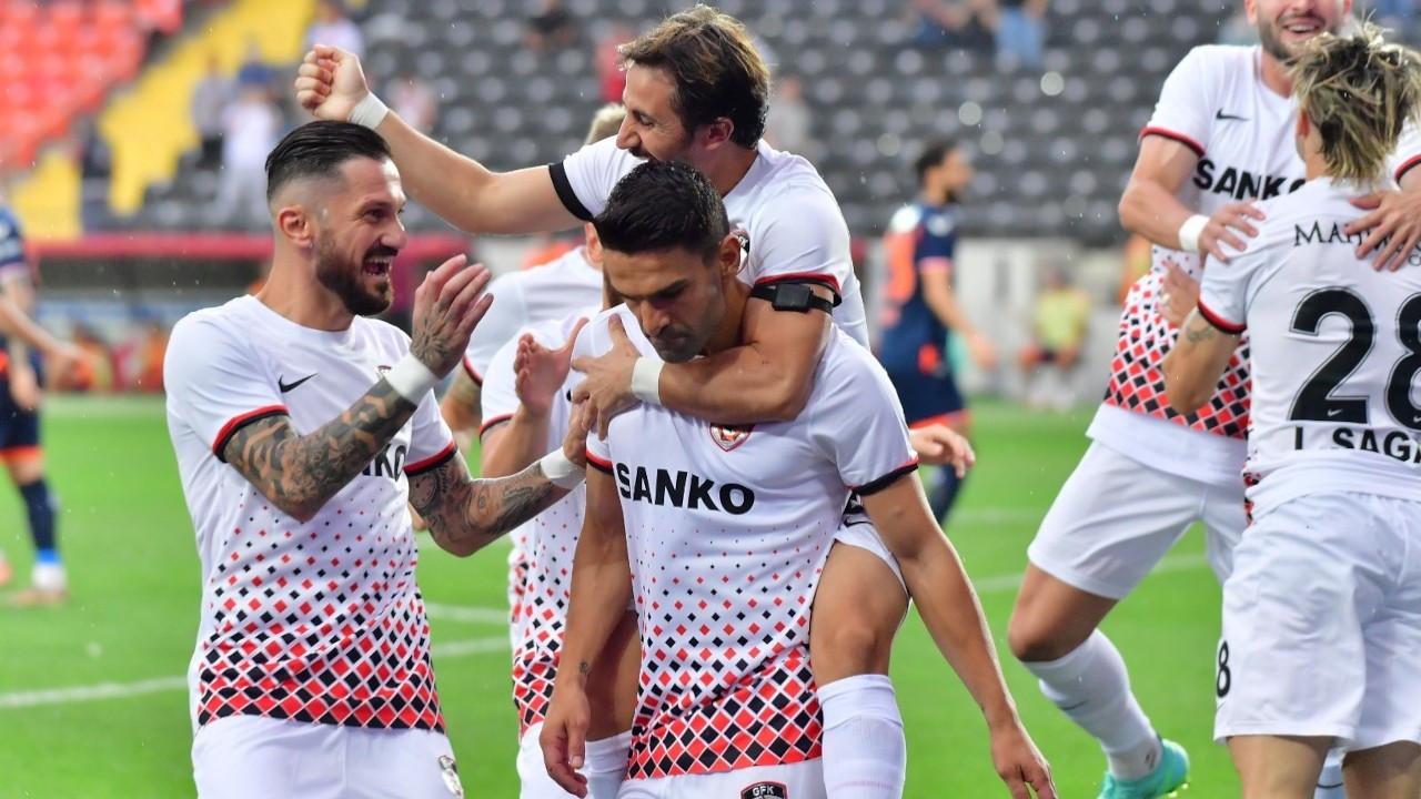 Gaziantep FK, Muhammet Demir'le kazandı