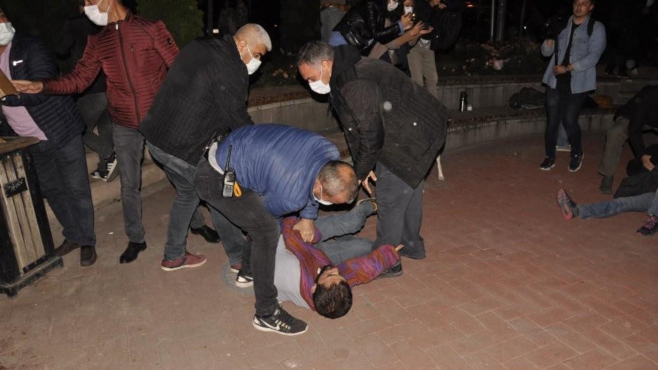 Gözaltına alınan öğrenci: Müdahale çok sertti, provokatör kendileri