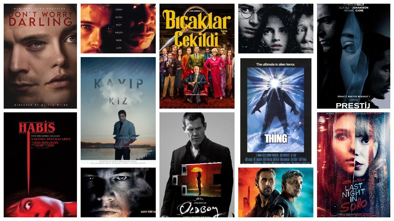 IMDb'ye göre en popüler 50 gizem filmi