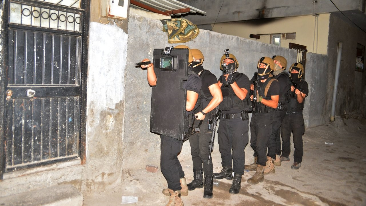 IŞİD'in 'Yamaçlı grubuna operasyon