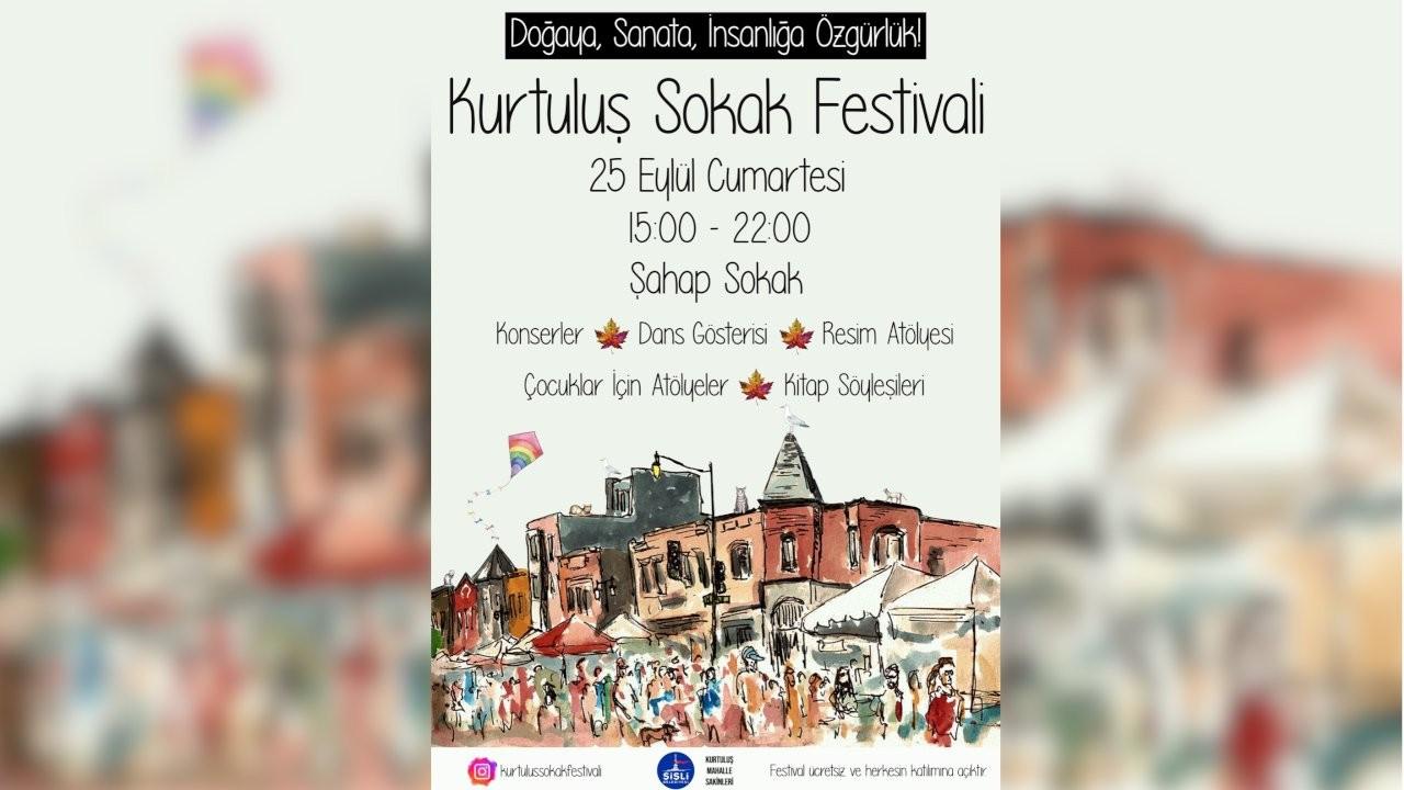 Kurtuluş Sokak Festivali 25 Eylül'de düzenlenecek