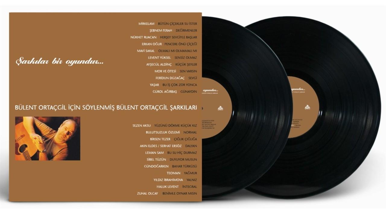 Bülent Ortaçgil için söylenen şarkılar şimdi plak formatında