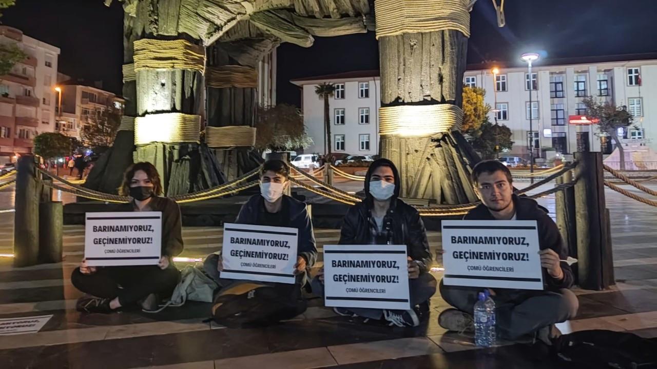 ÇOMÜ öğrencileri: Barınamıyoruz, geçinemiyoruz