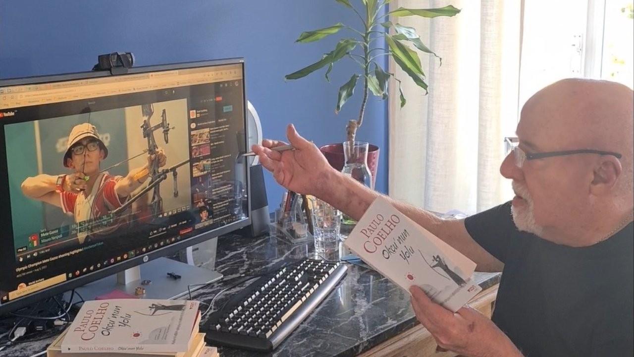 Paulo Coelho, 'Okçu'nun Yolu'nu Mete Gazoz'a adadı