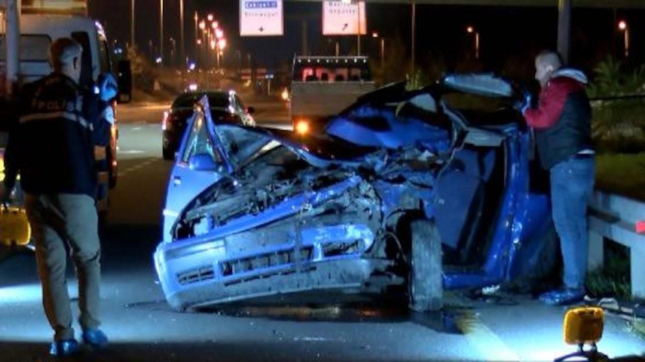 Otomobil, belediye işçilerine çarptı: 2 ölü, 2 yaralı