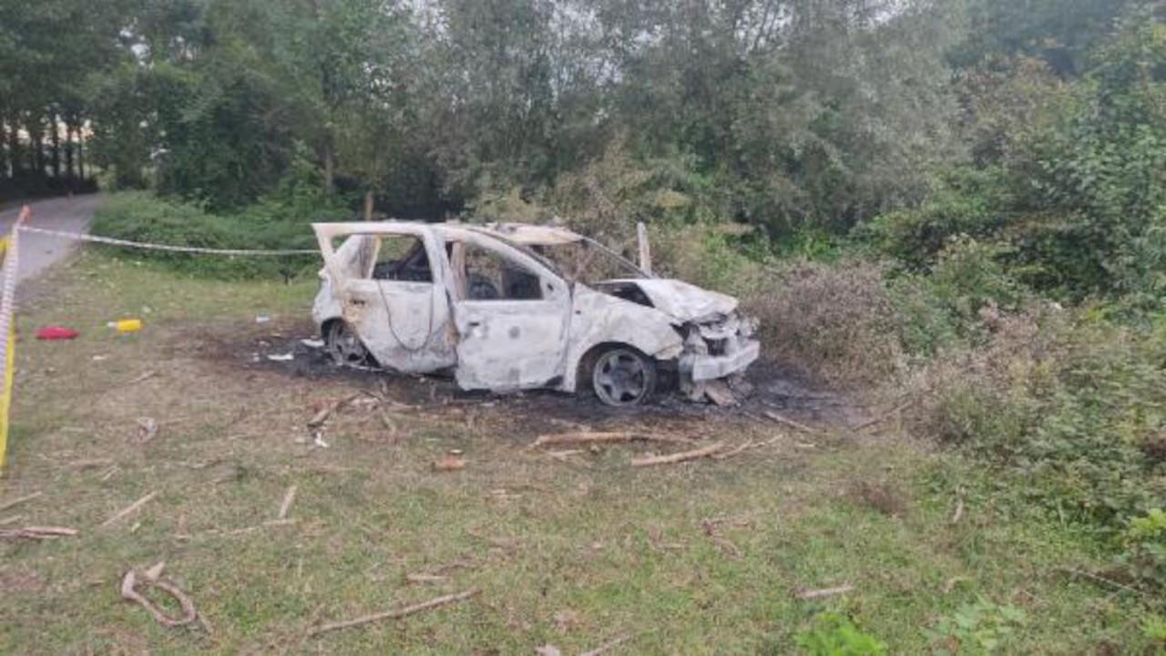 Futbolcu Burak Gündoğdu yanan aracının içinde ölü bulundu