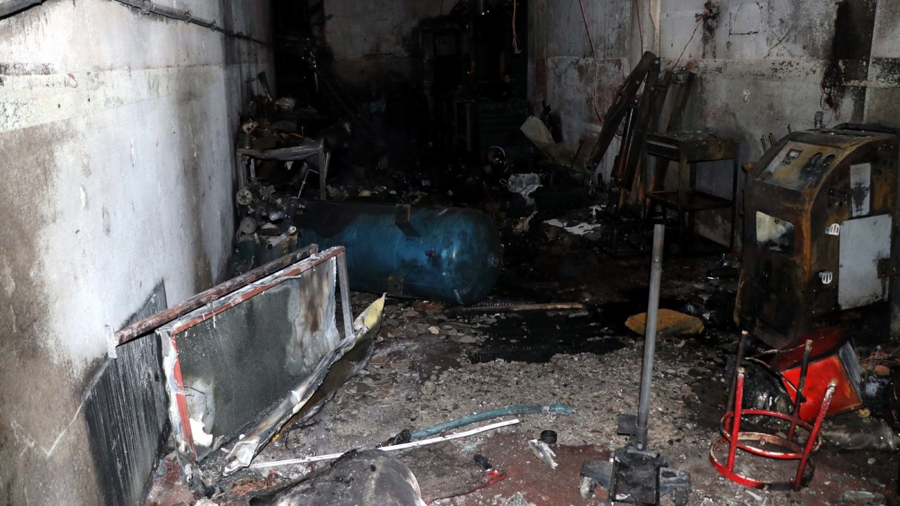 Sanayide LPG tüpü patladı, 11 yaşındaki çocuk öldü