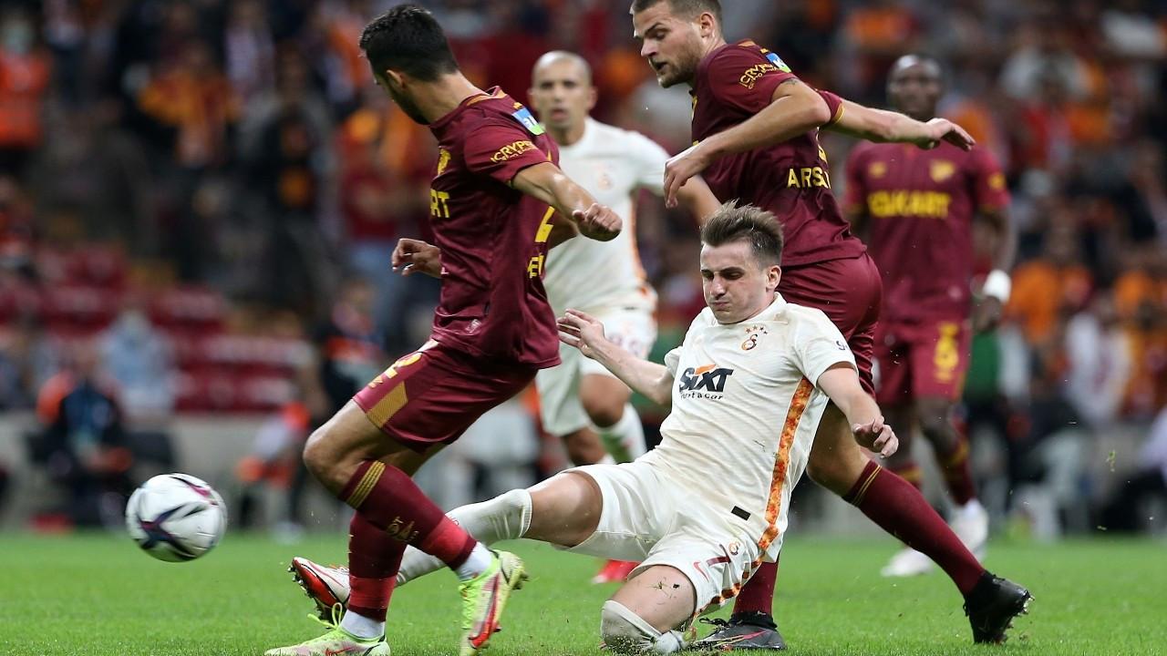 Galatasaray'dan dört maç sonra galibiyet: 2-1