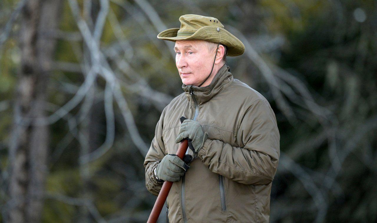 Putin'in Sibirya tatilinin fotoğrafları yayınlandı: Çadırda kalıp balık tuttu - Sayfa 2