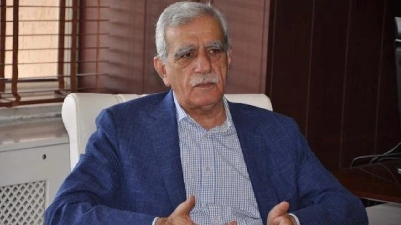 Ahmet Türk: Bir tek kişiyi muhatap göstermek doğru değil