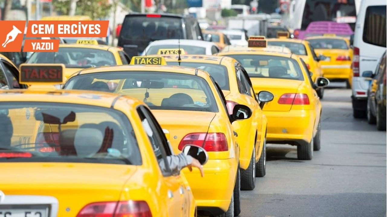 Taksi siyasi krize dönüştü