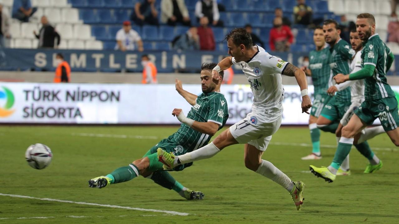 Dört gollü maçta kazanan çıkmadı