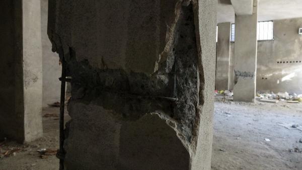 150 kişinin oturduğu binanın kolonlarını keserken yakalandı - Sayfa 3