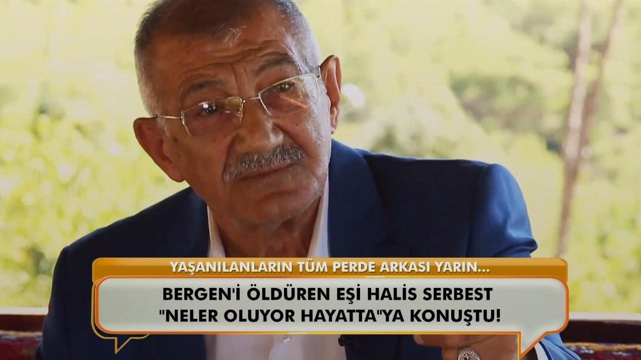 Bergen'i katleden Halis Serbest'e mikrofon uzatılması tepki çekti