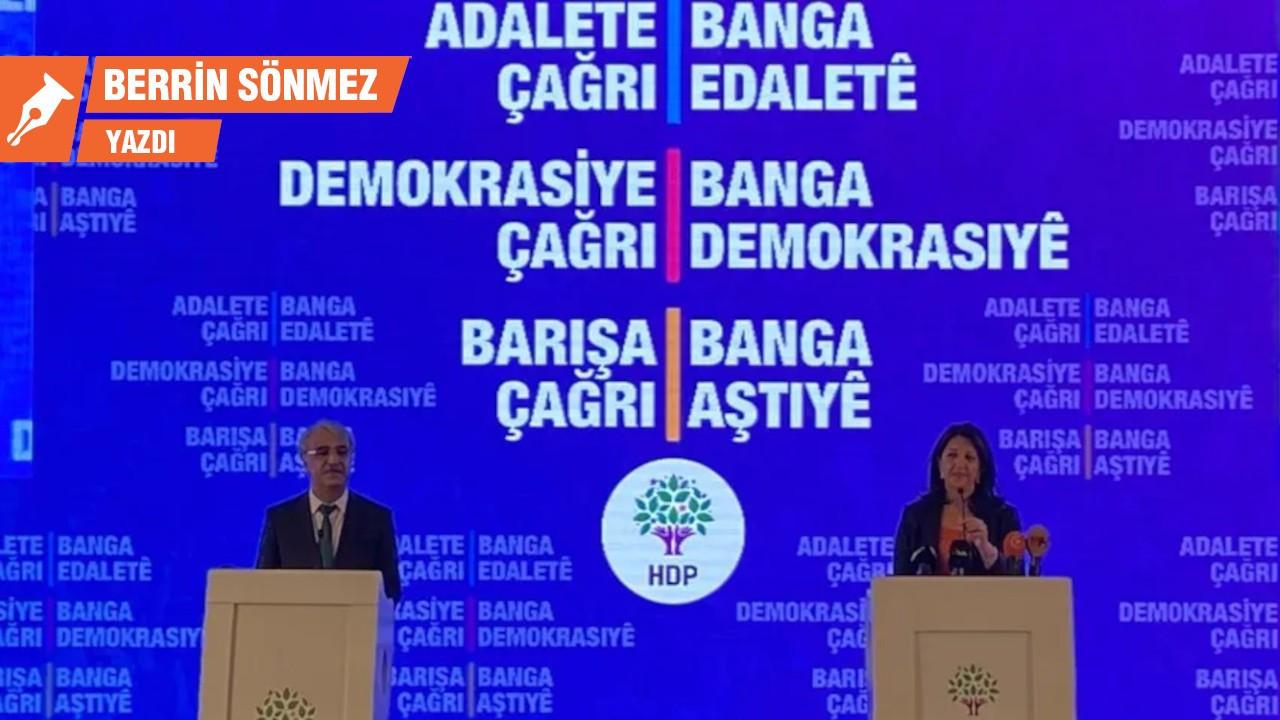 HDP Deklarasyonu: İki ayaklı demokrasiye çeyrek kala