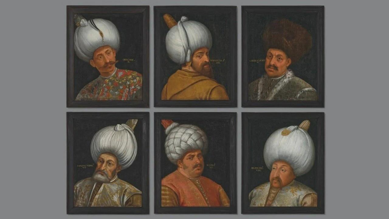 Osmanlı padişahlarının portreleri İngiltere'de satışa çıkıyor
