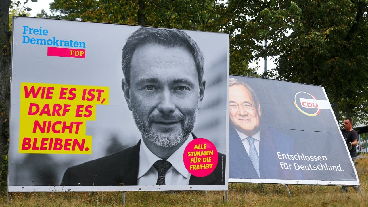 Almanya seçimlerinin kilit partisi FDP: Koalisyonda tercihimiz CDU/CSU