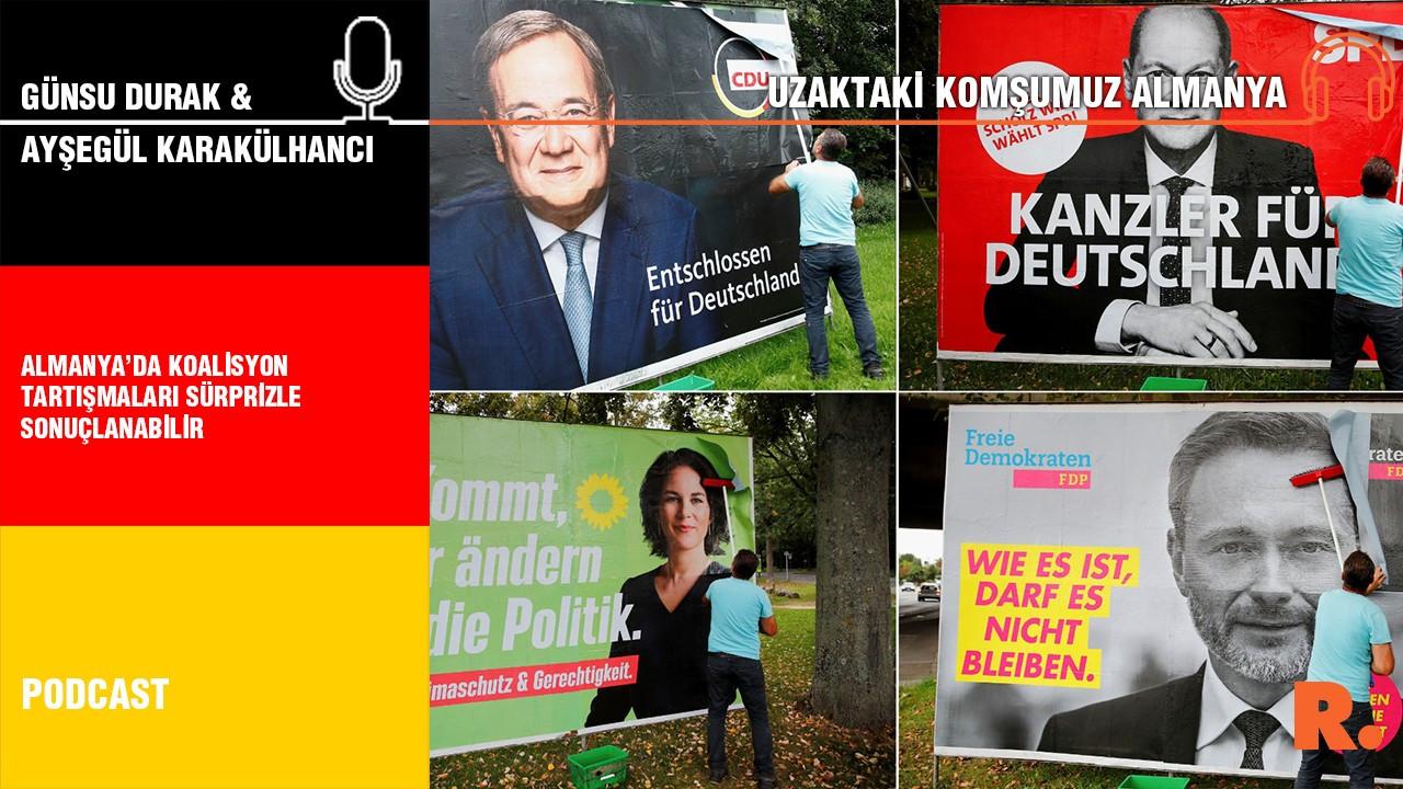 Uzaktaki Komşumuz Almanya… Ayşegül Karakülhancı: Almanya'da koalisyon tartışmaları sürprizle sonuçlanabilir