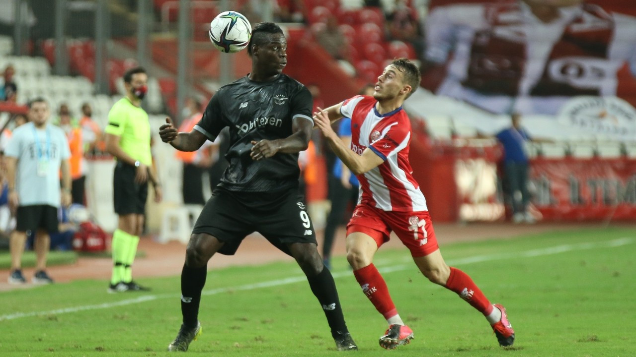 Adana Demirspor, Antalya deplasmanından 3 puanla dönüyor