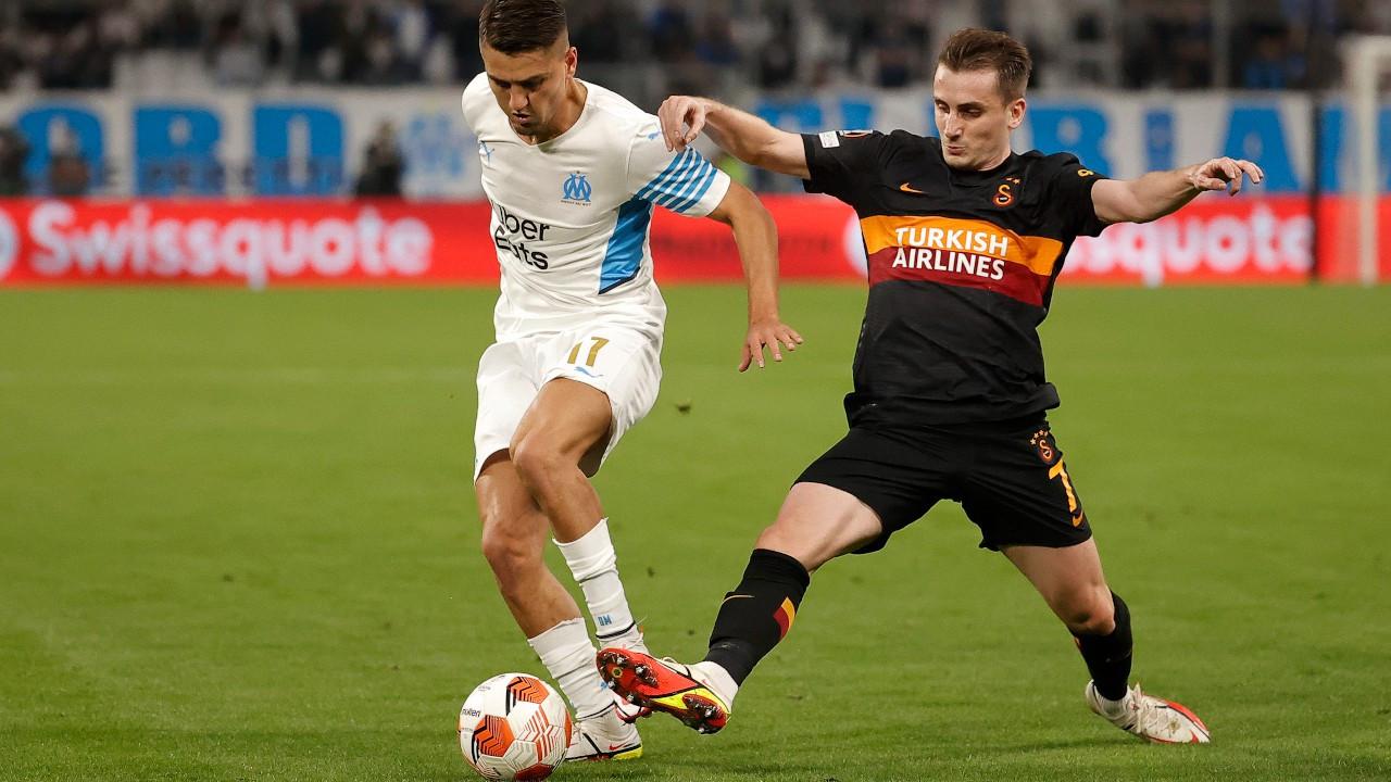 Marsilya'da 1 puan alan Galatasaray grup lideri