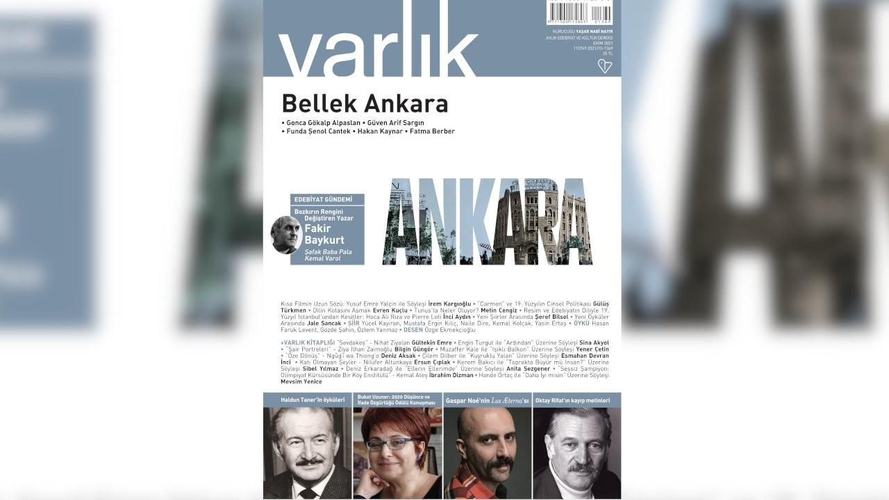 Varlık dergisi ekim sayısı yayımlandı