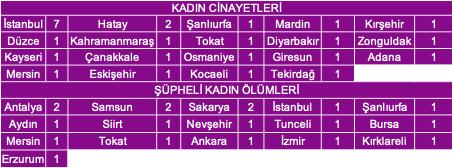 Eylül ayında 26 kadın öldürüldü, 19 kadın şüpheli şekilde ölü bulundu - Sayfa 1