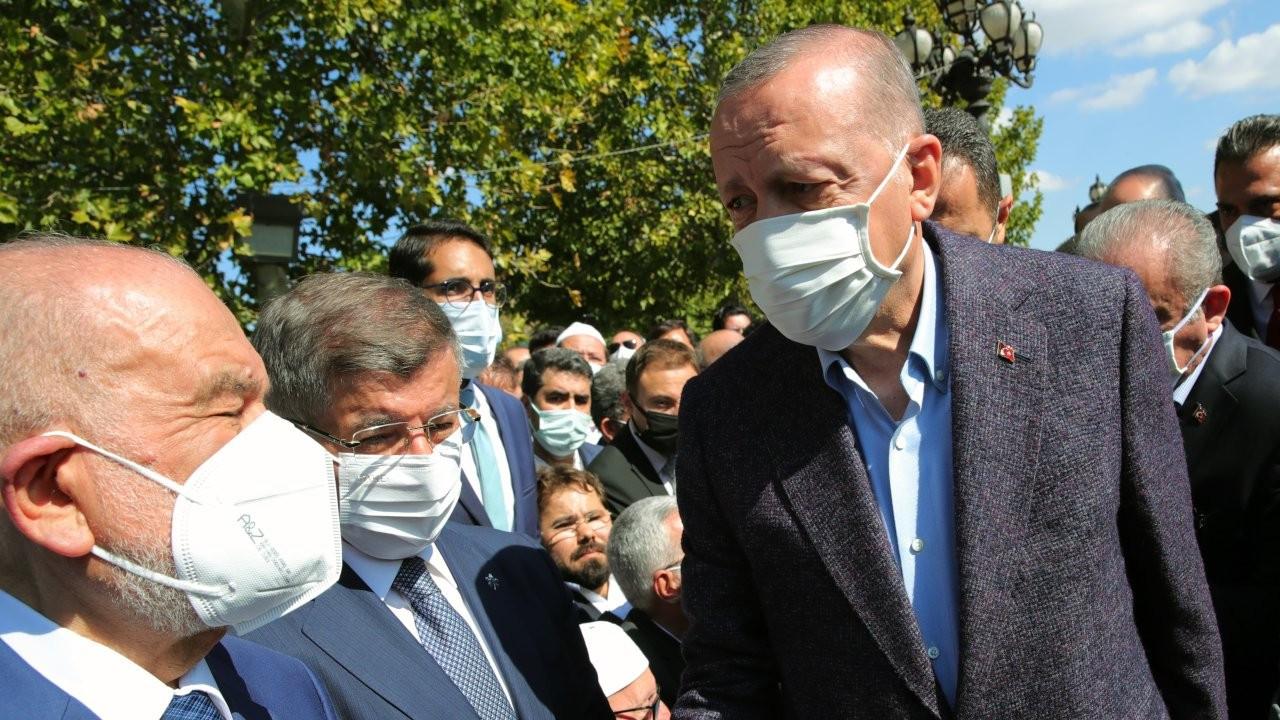 Liderler Asiltürk'ün cenazesinde buluştu