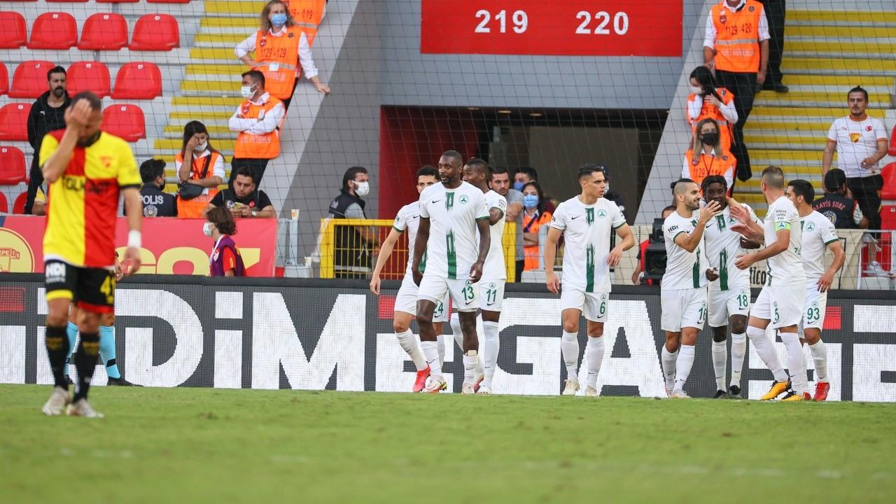 Giresunspor Süper Lig'de 44 yıl sonra galip