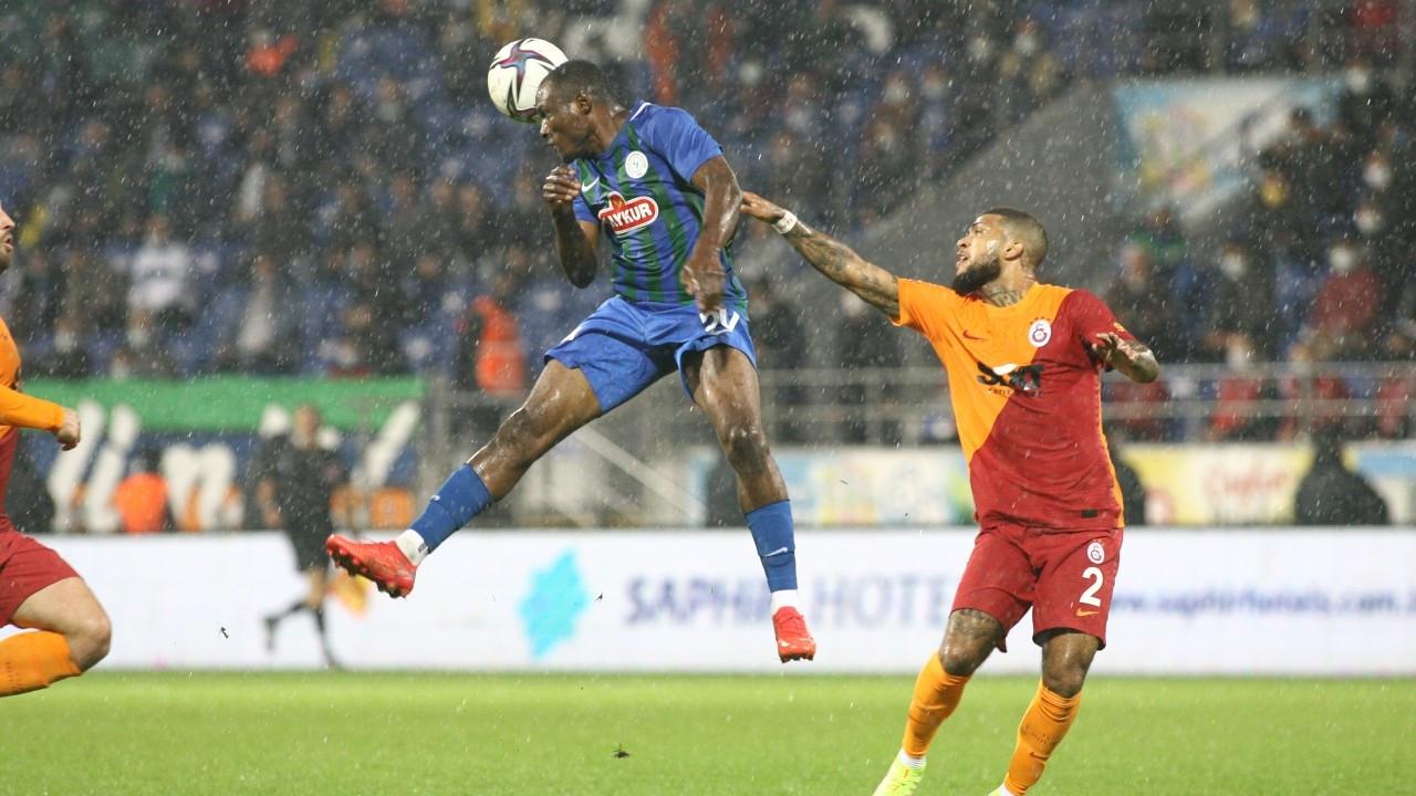 Galatasaray Rize'den üç puanla dönüyor: 3-2