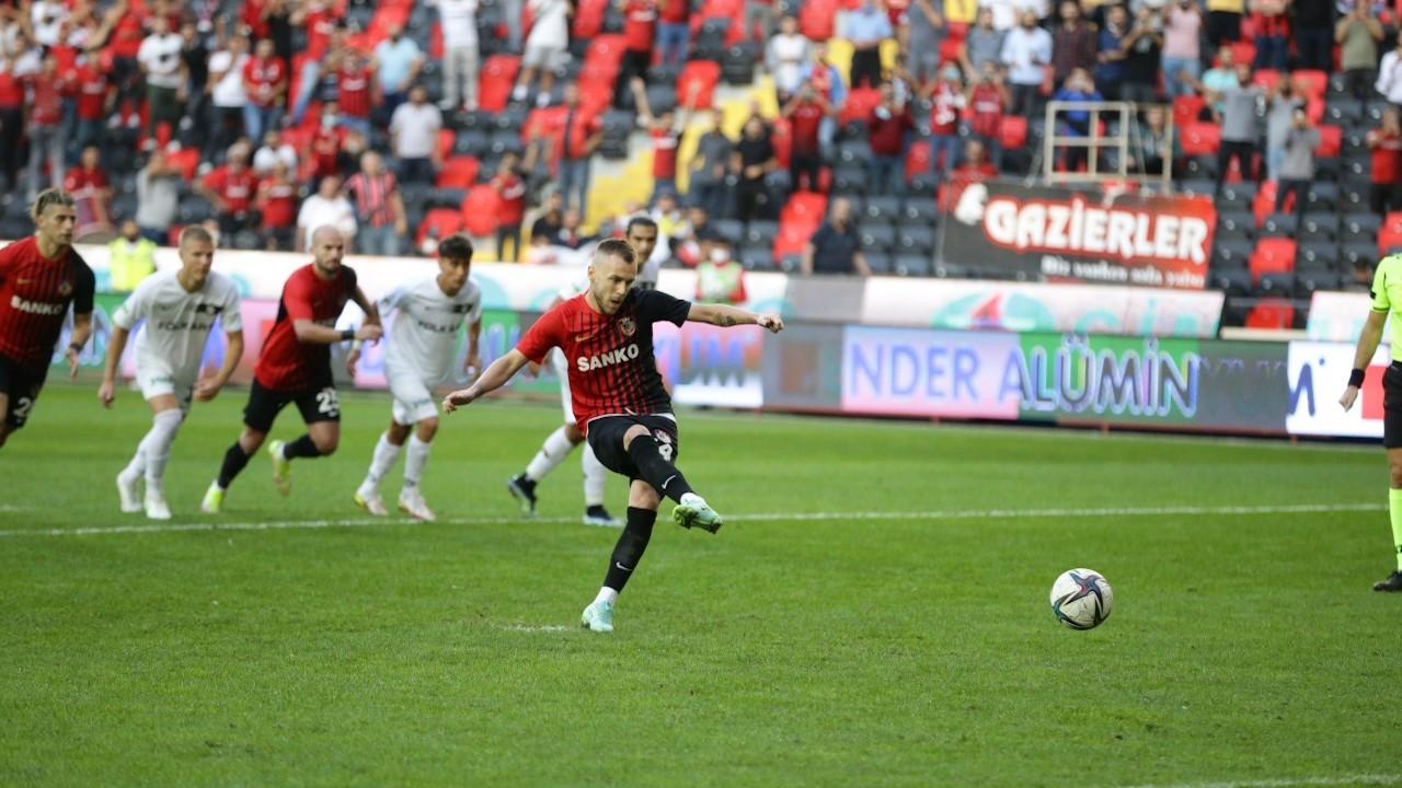 Gaziantep, sahasında ağırladığı Altay'ı farklı yendi: 4-1