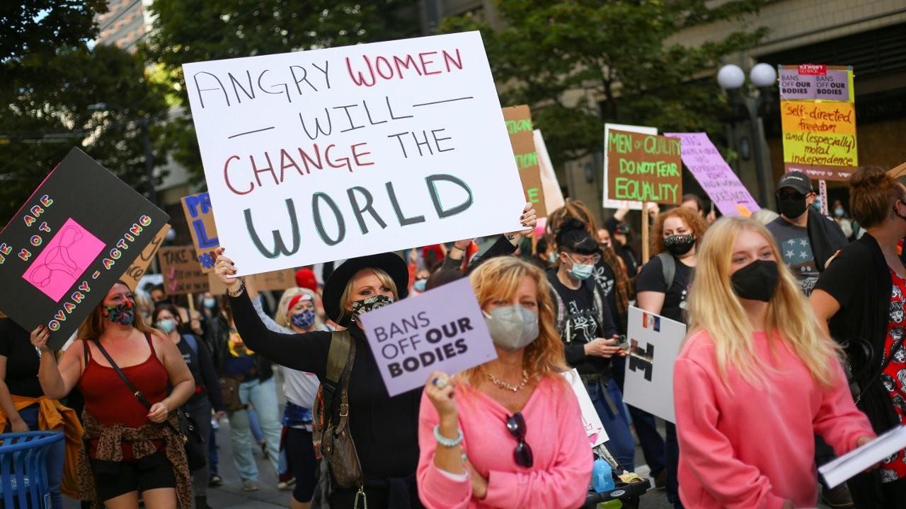 ABD'de kadınlar kürtaj hakkı için yürüdü