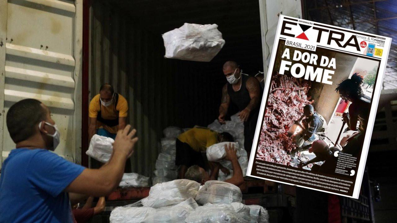 Brezilya'da açlık krizi: Kimilerinin yiyecek kemiği bile yok