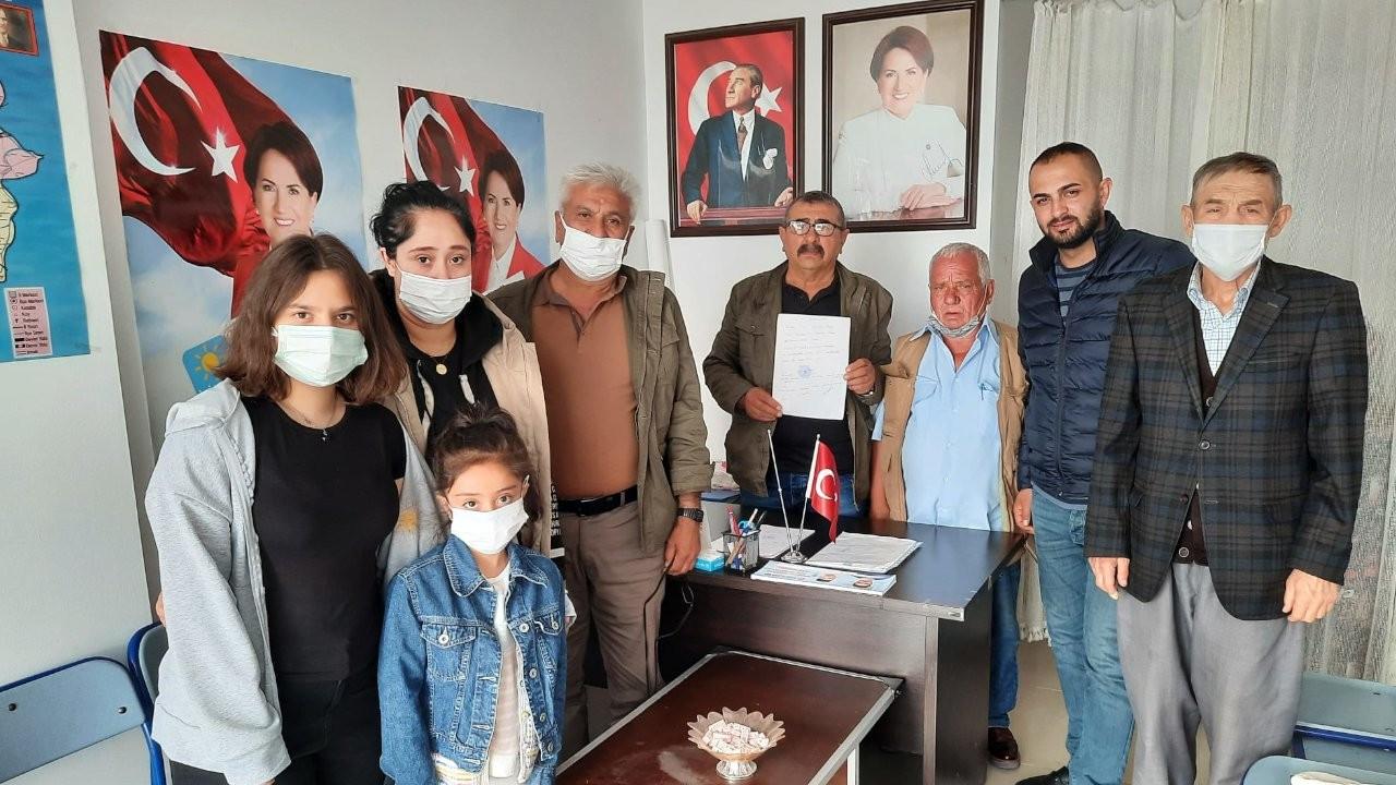 İYİ Parti Bahşılı İlçe Başkanı ve yönetimi istifa etti
