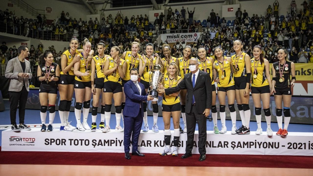 Spor Toto Şampiyonlar Kupası VakıfBank'ın