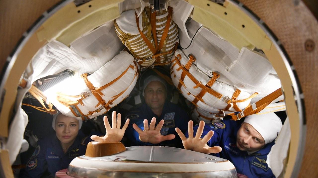 Rusya, 'uzayda çekilecek ilk film' için ekibini uzaya gönderdi