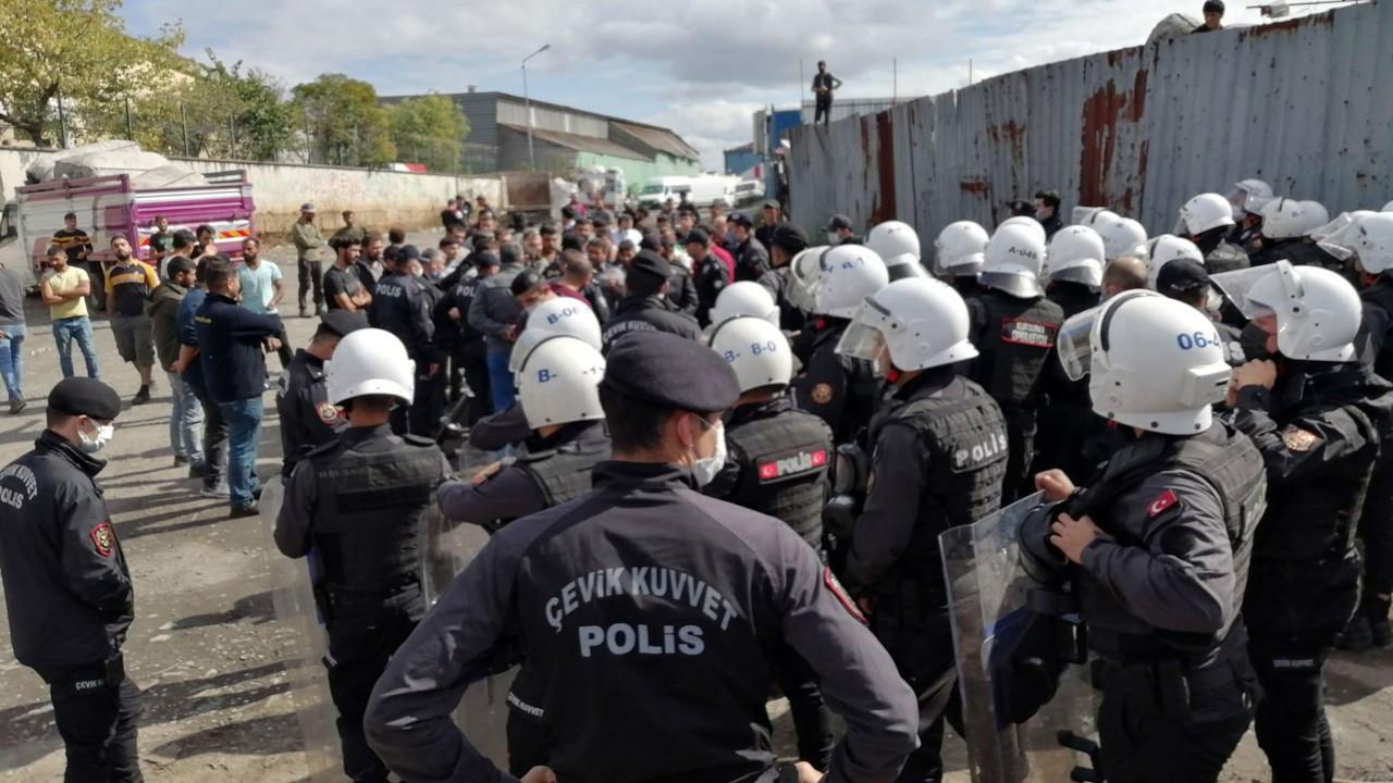 Ümraniye'de gözaltına alınan 3 geri dönüşüm işçisi tutuklandı