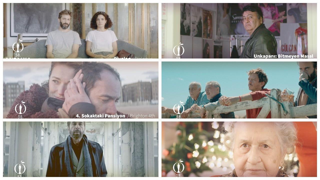 58. Antalya Altın Portakal Film Festivali'nde bugün